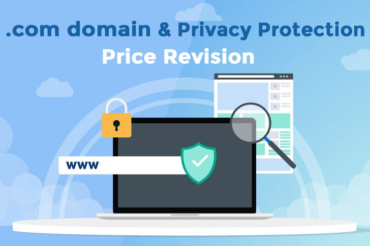 .COM Domain & Privacy Protection Price Revision