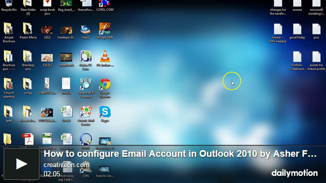 How To Configure Email In Out Look 2010