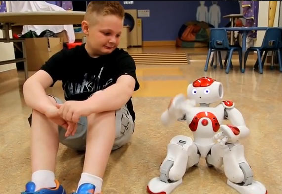 Robots Would Help The Child Patients