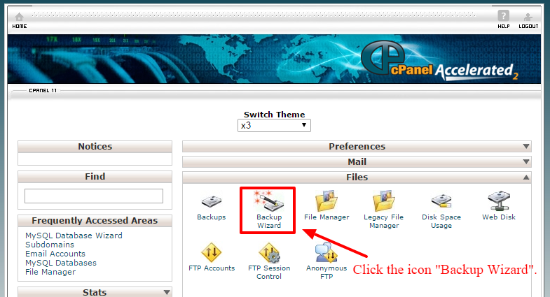 Backup Your Website In Cpanel
