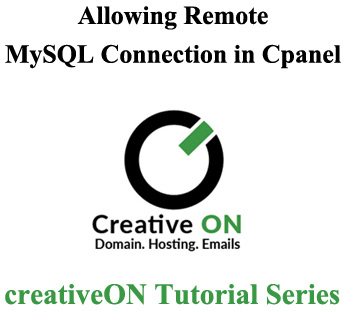 Remote MySQL Connection In CPanel