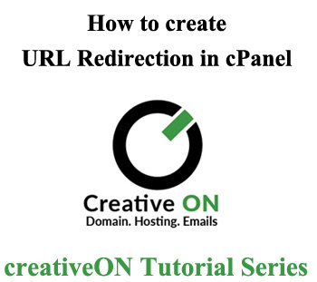 How to create URL redirect in Cpanel