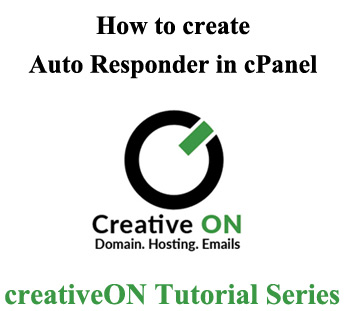 How to Create an Auto Responders in cPanel