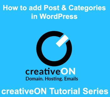How To Add Post And Categories In WordPress