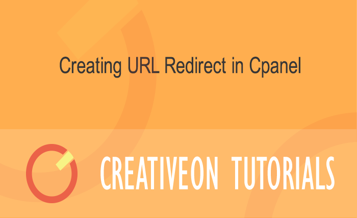 Creating URL Redirect In Cpanel