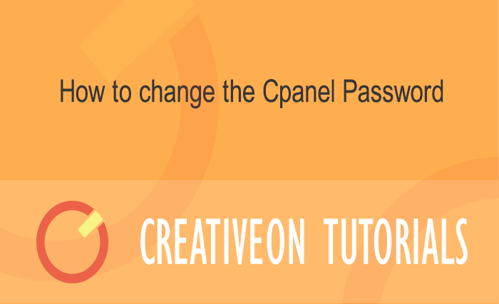 How to Change The cPanel Password