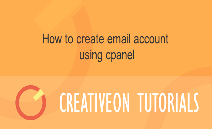 How To Create Email Account Using Cpanel