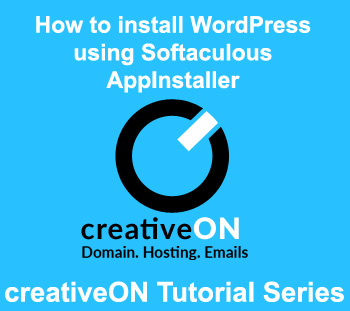 Installing WordPress Using Softaculous Apps Installer